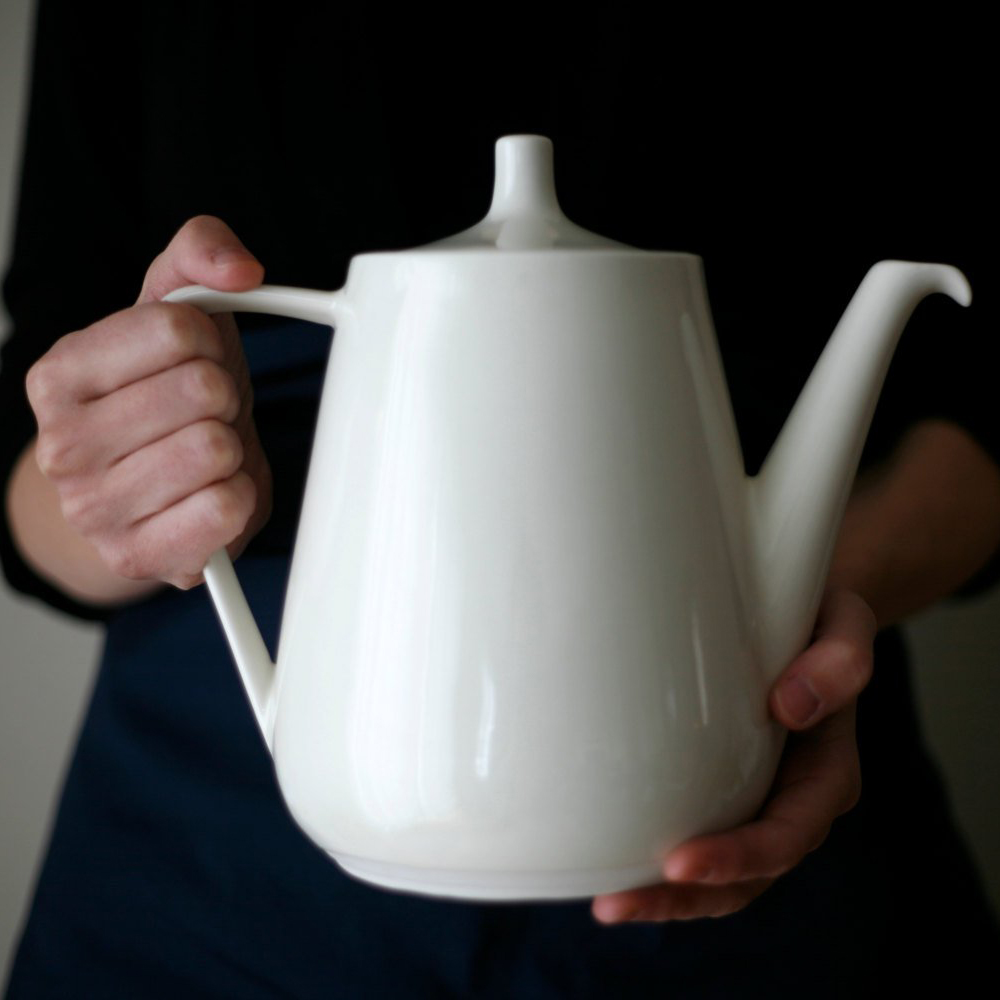Porcelain teapot $175