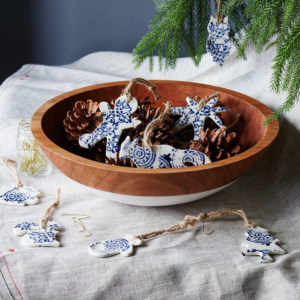 Ceramic Ornaments (Set of 2) $26