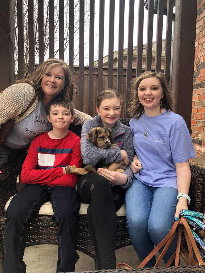 Sophie and her family