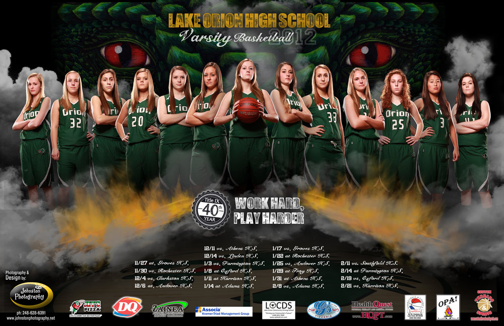 Lake Orion  Girls Basketball Team .jpg