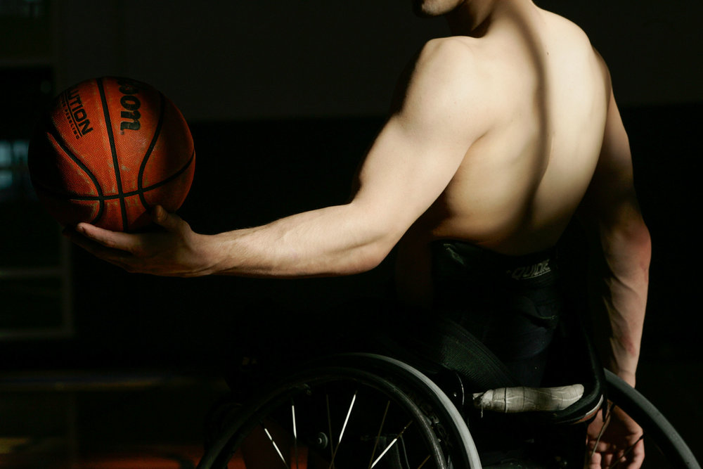 Zach Beaulieu, Illinois wheelchair basketball player.