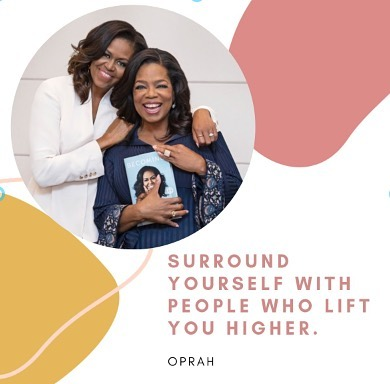 Auntie Oprah said it best. Keep good spirits around, and you will always be covered. 🤞🏽 • • • • #letsvibe #vibe #womensgroup #blogger #empowerment #visionary #chicagoevents #motivation #inspiration #design #diversity #blogher #blkcreatives  #womenempowerment #womenindesign #socialinnovation #instagood #inspiration  #chicago #woc #girlboss #entrepreneur #networkinginchicago #network #chicago #girlboss #contributor #blog #blogger #designyourlife #chicagoevents