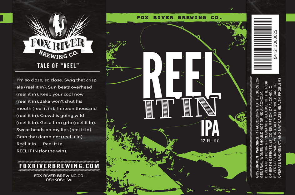 Reel It In IPA Label