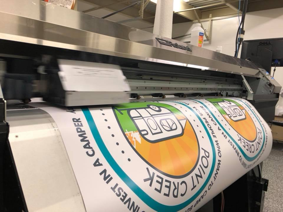 March 2018 - Derksen Co. continues to experiment with various substrates to improve our digital printing capabilities.