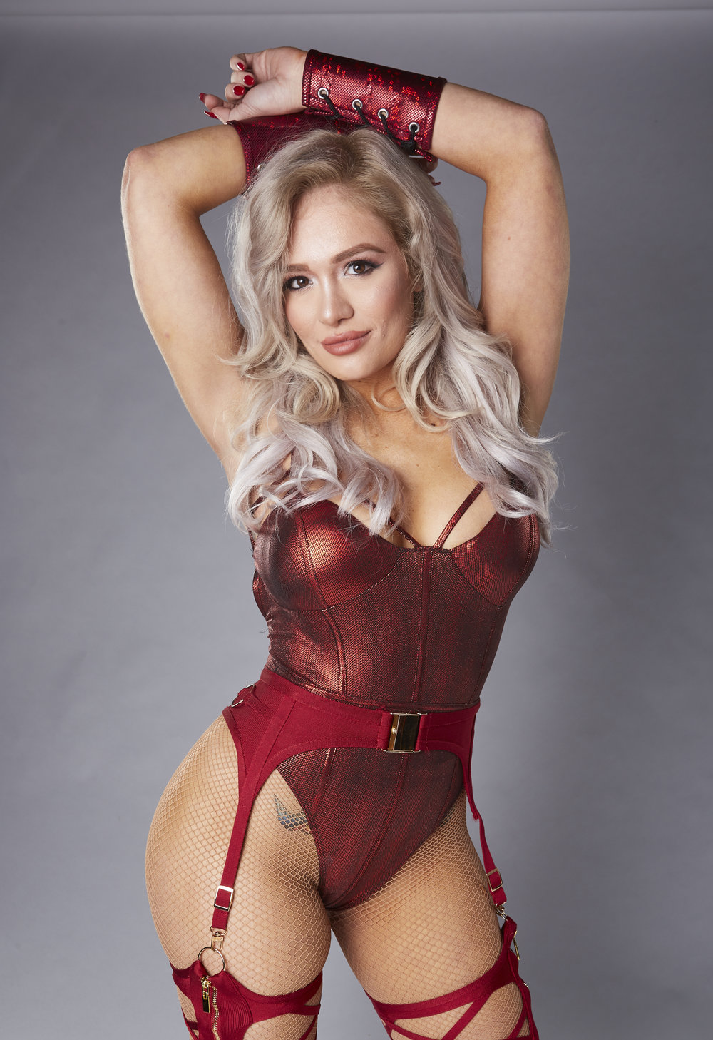 Chicago's Scarlett Bordeaux, graduate of Sandburg High School and Columbia College, is looking to make a name for herself in IMPACT Wrestling.  (Photo courtesy of IMPACTWrestling.com)