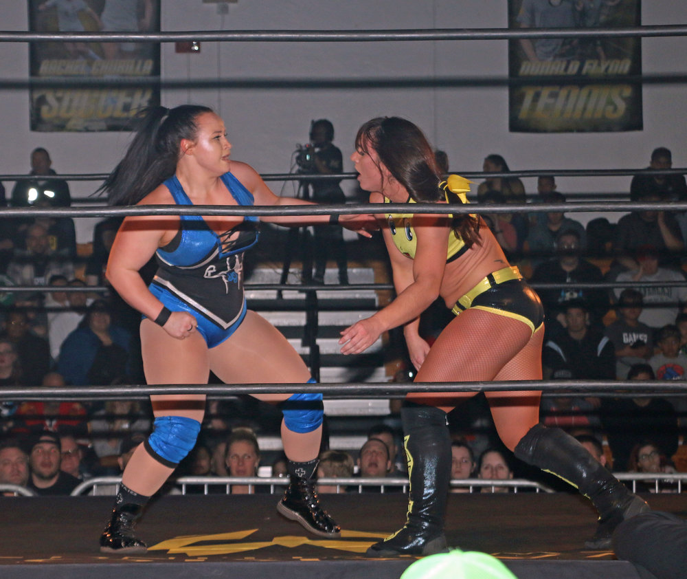 Jordynne Grace goes toe to toe with Kylie Rae.