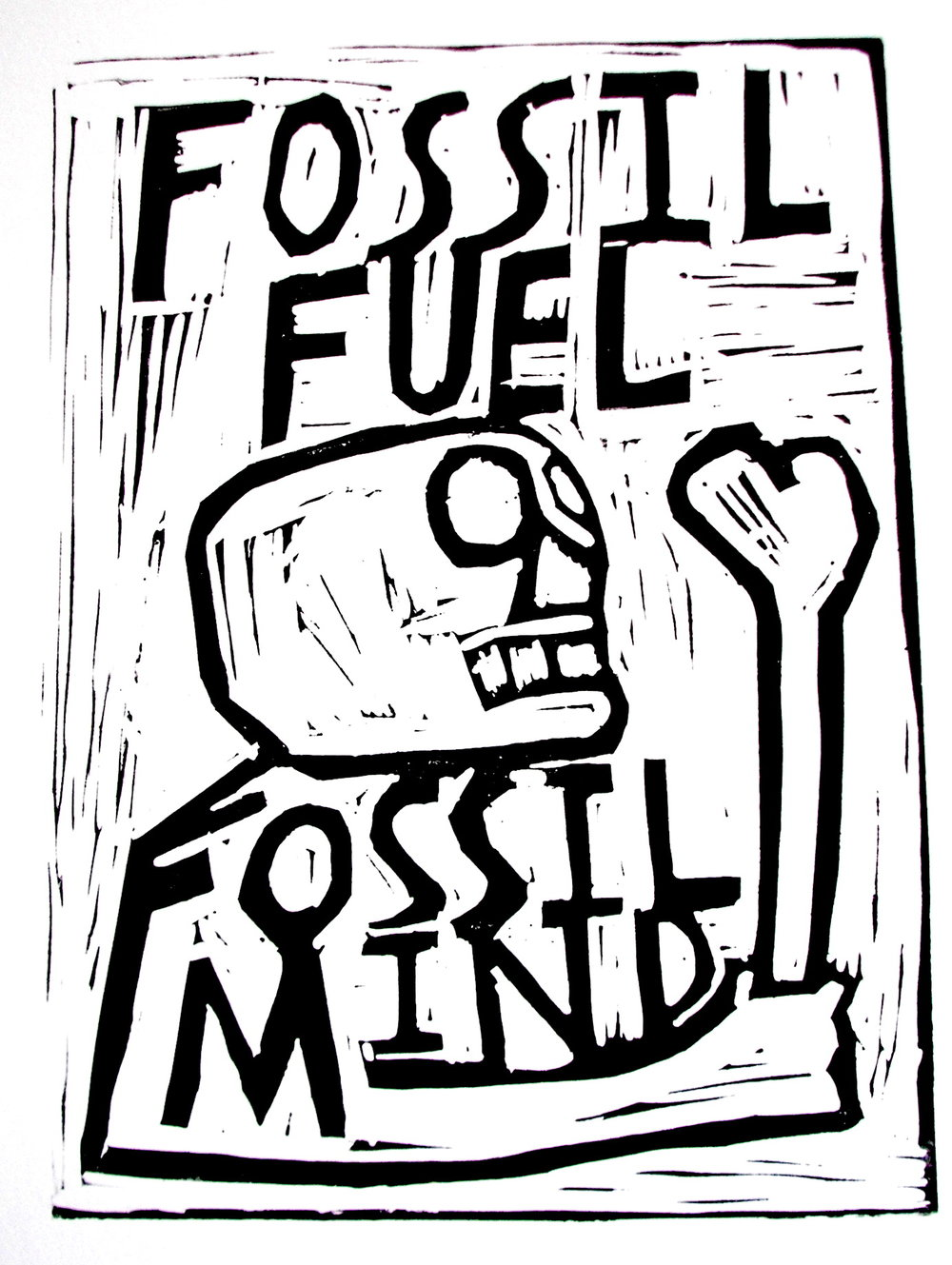 Fossil Fuel Fossil Mind