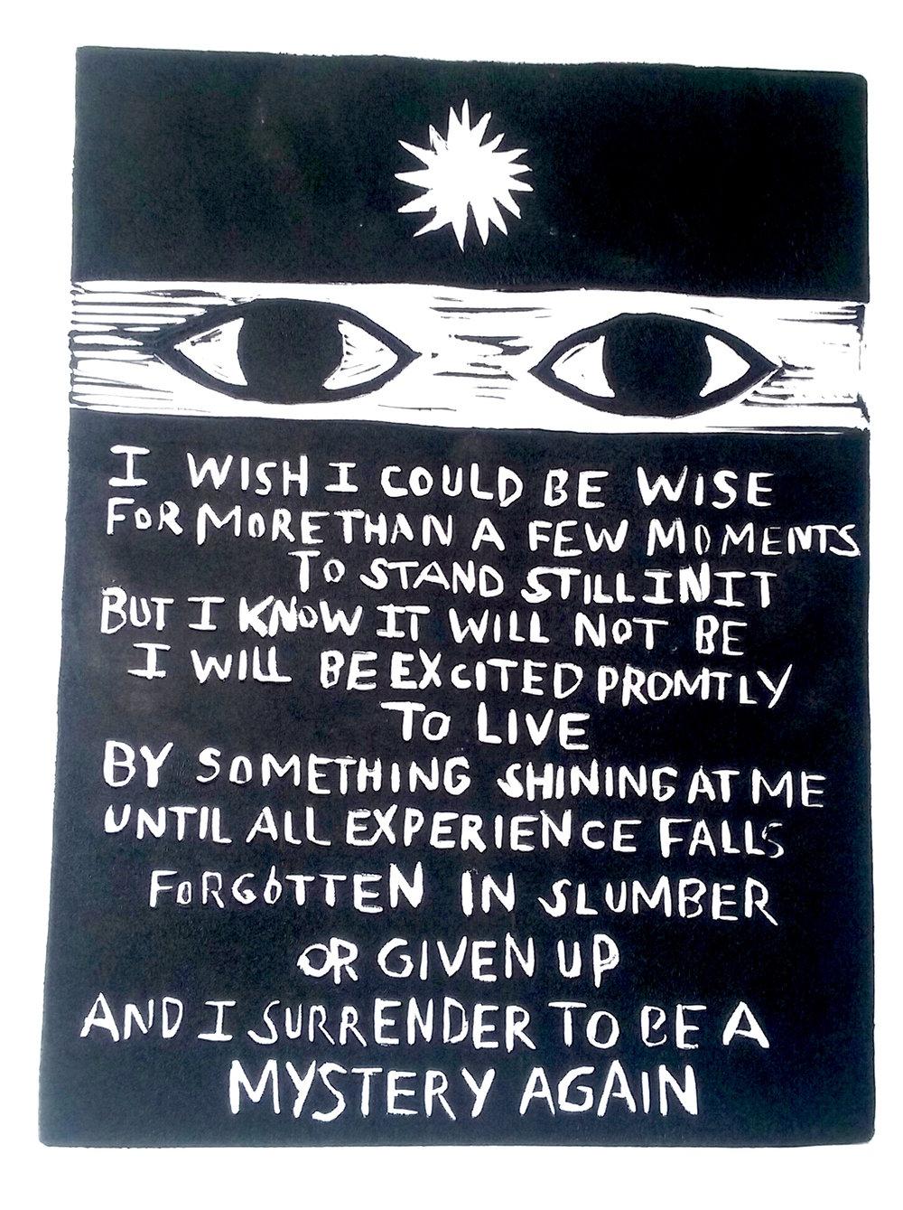 I wish….