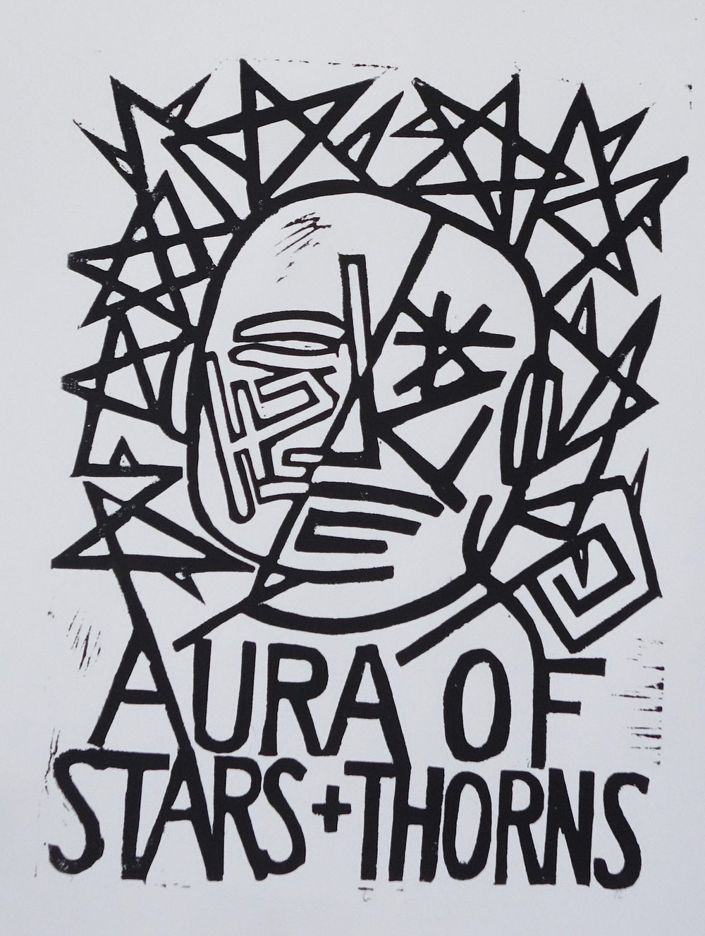 Aura of stars and thorns and
