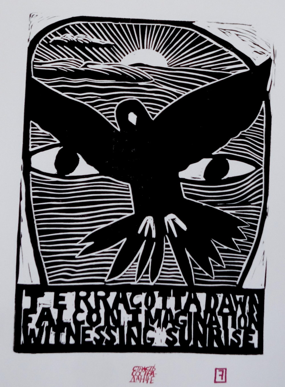 Terracotta Dawn/Falcon Imagination/Witnessing Sunrise