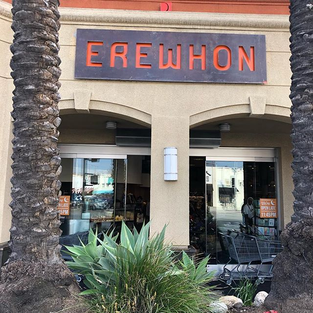 Just had to share the #foodgoodness. . I found a grocer in LA that is quite epic, #erewhon, (which I can hardly pronounce and when I do I look like a 10 year old with a mouth full of taffy), . It has everything you need and more from a healthy and organic standpoint. . . It's equipped with fancy elixirs (some infused with cbd oil, liquid charcoal and more) and a ridiculous delicatessen all of which is made in-house and is some of the freshest, high quality food I've ever literally tasted. . . When you have the ability to invest in to your wellness with food, never hesitate. . . #healthyeats #nutrition #fitfuel #wellness #wholefoods #itslikewillywonkaschocolatefactoryonlyhealthier