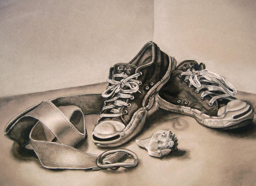 13. Kristina Baker- Charcoal on toned paper, 17 x 20.JPG