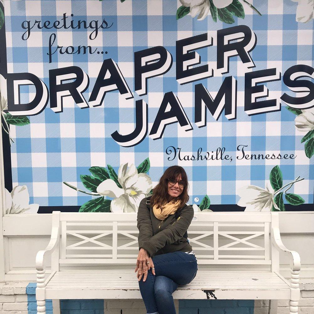 Draper James Mural Nashville