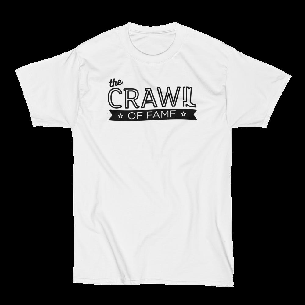 Crawl Of Fame T-Shirt Black Logo Nashville Tours.png