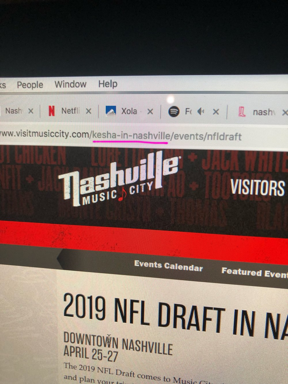 OMG could this mean Ke$ha is playing the NFL draft?