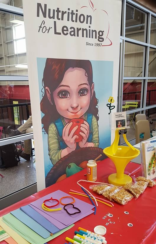 I had the pleasure of fundraising for Nutrition for Learning at the Kitchener Market