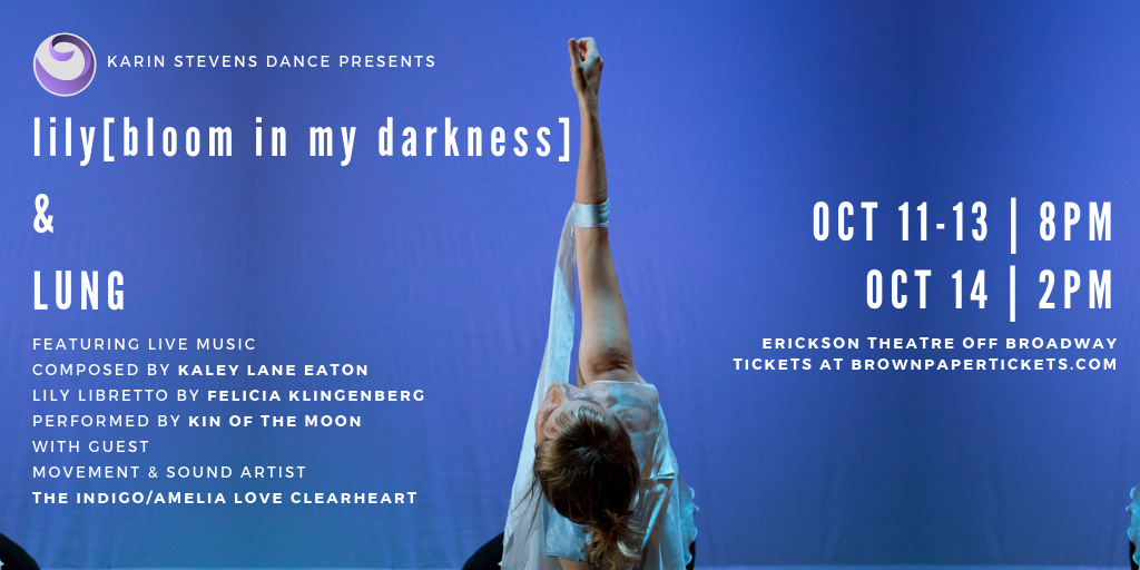 lily[bloom in my darkness] & LUNG | October 11-14, 2018 — Karin