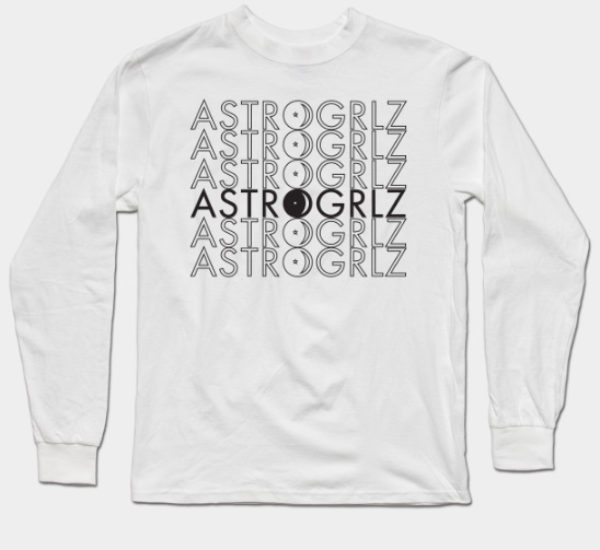 Black Astrogrlz6 Long Sleeve