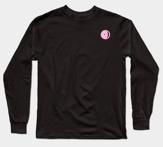 Pink Astro Logo Long Sleeve