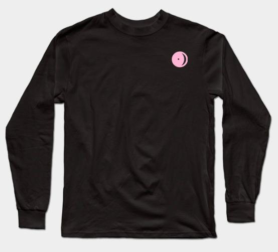 Pink Astro Logo Long Sleeve