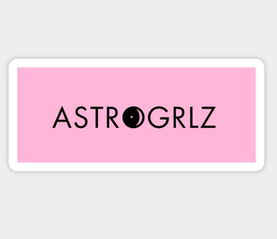 Astrogrlz Sticker