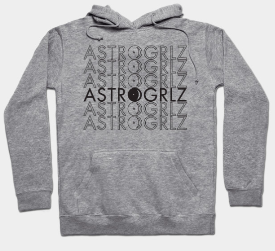 Black Astrogrlz6 Hoodie