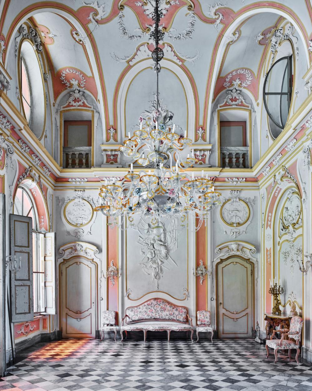 DAVID BURDENY, Pastel Room, Tenuta Berroni   Archival Pigment Print, 40 in. x 32 in.