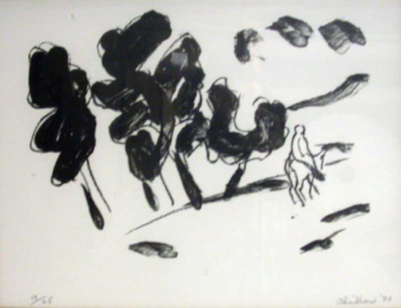 Paul Chidlaw, Return Journey  Lithograph 9x12 in.