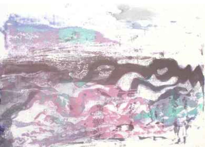 Paul Chidlaw, Numbered Print (Original) #4 of 5  Original Print 19x25 in.