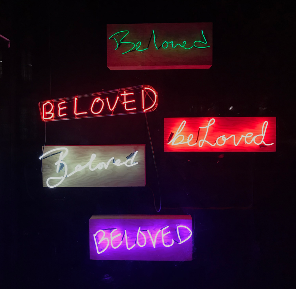 ERIKA DEVRIES, Beloved  Neon, 30 in. x 12 in. x 7 in.