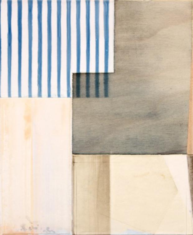 Ned Evans, Galita  Acrylic & Mixed Medium on Board, 17x14 in.