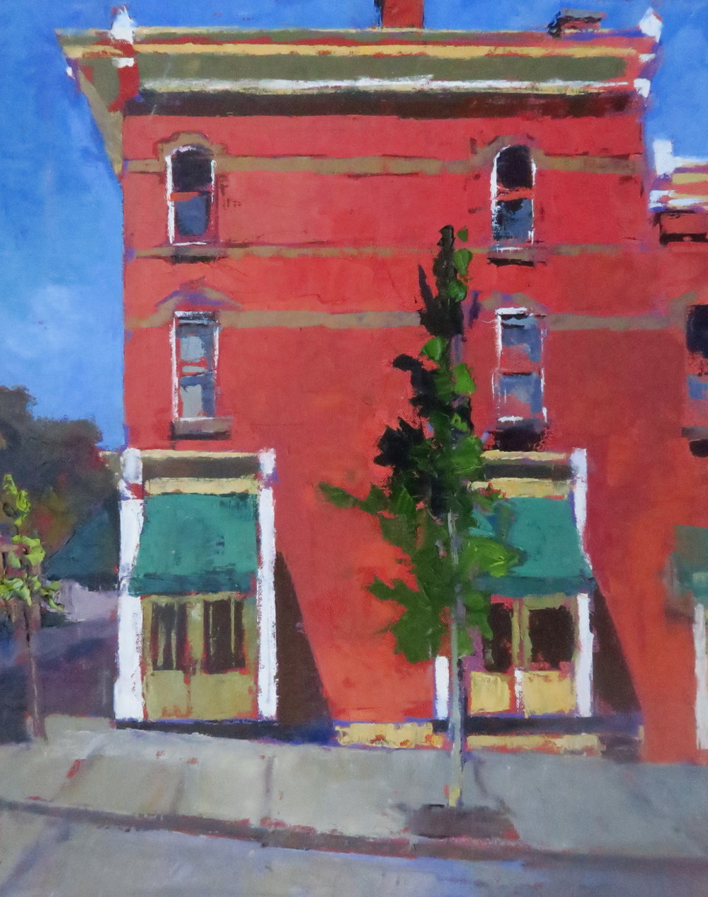Pam Folsom, Maysville II  Oil on Canvas, 20 in. x 16 in.