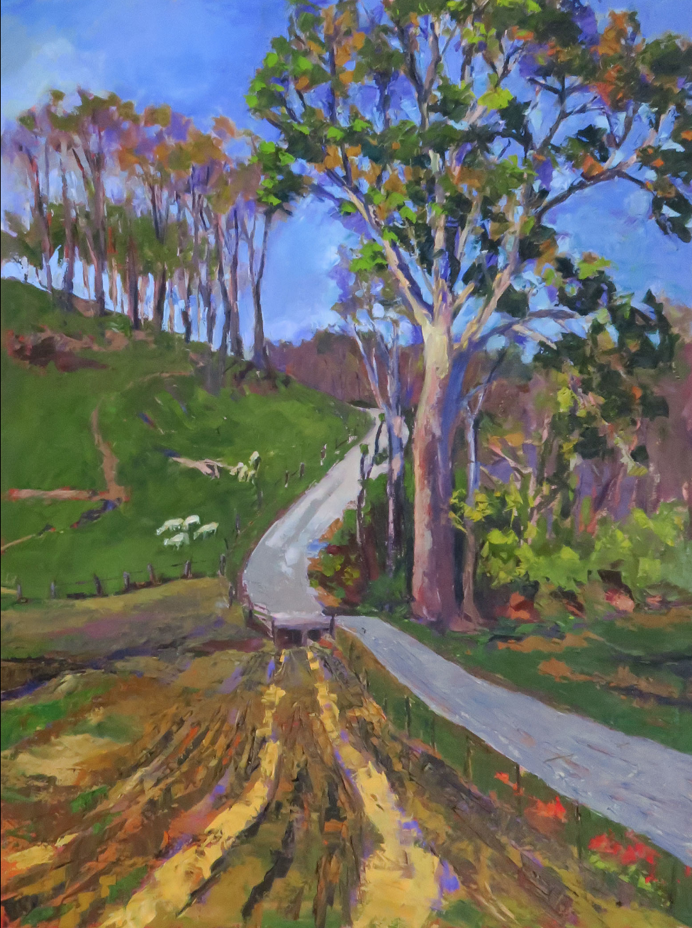Pam Folsom, The Start of Spring  Oil on Canvas, 40 in. x 30 in.