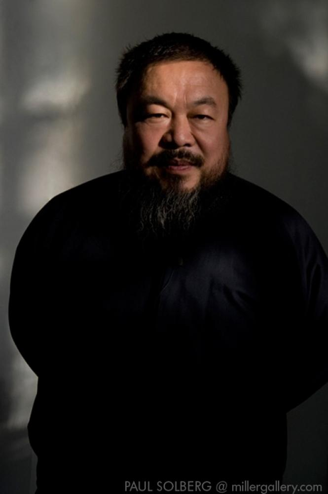 The Hilton Brothers - Makos/Solberg, Ai Wei Wei (2008)  Archival Pigment Print, 36x24 in.
