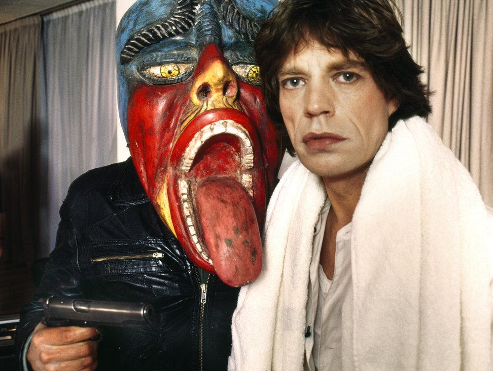 Douglas Kirkland, Mick Jagger Mexico 1983  Archival Pigment Print, 40x60 in.