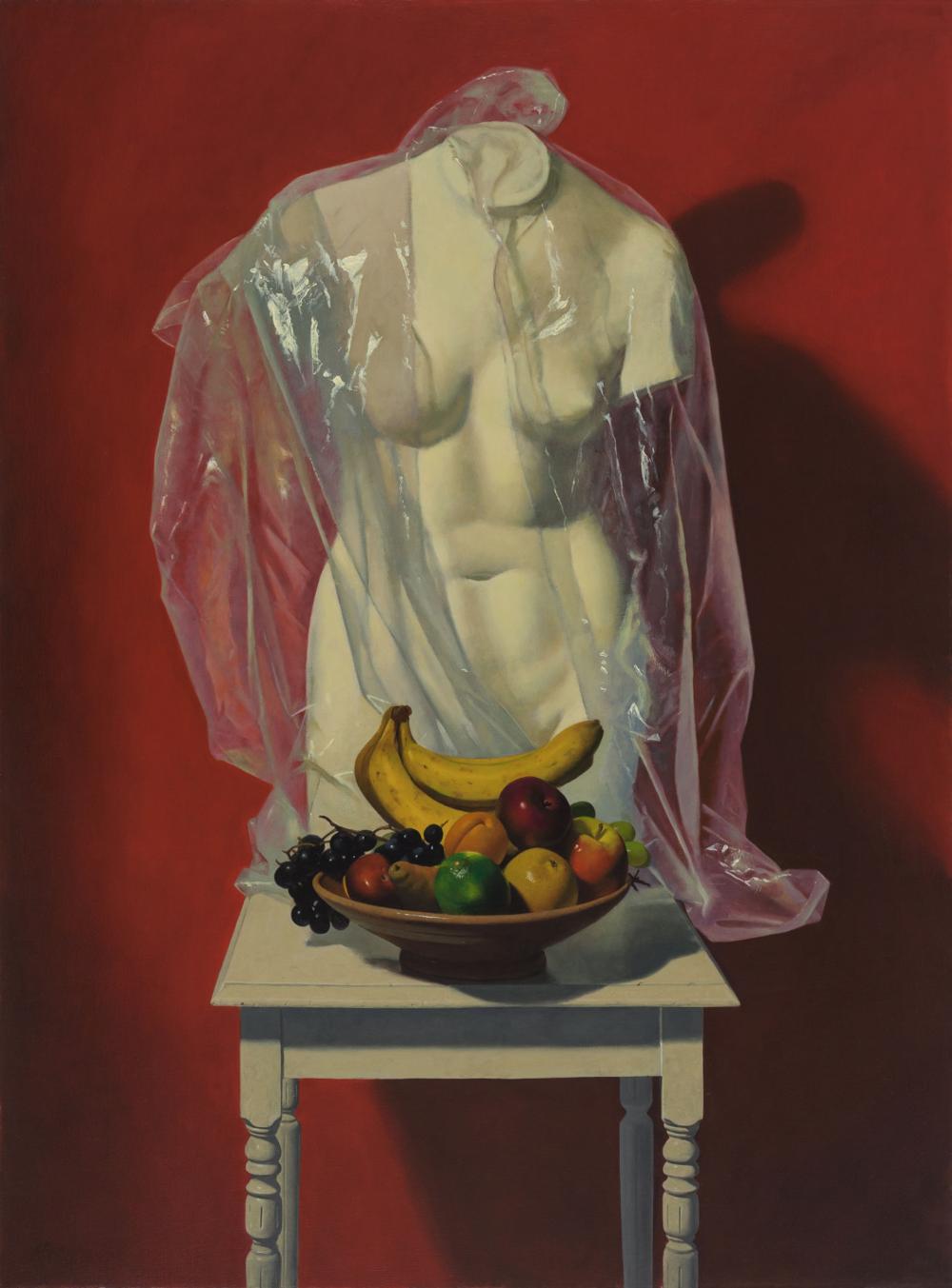 Ron Monsma, Specter  Oil on Canvas, 46x34 in.