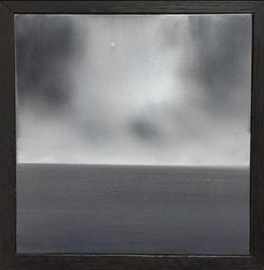 Matthew C. Metzger, The Sea II  Oil on Wood, 6x5 in.