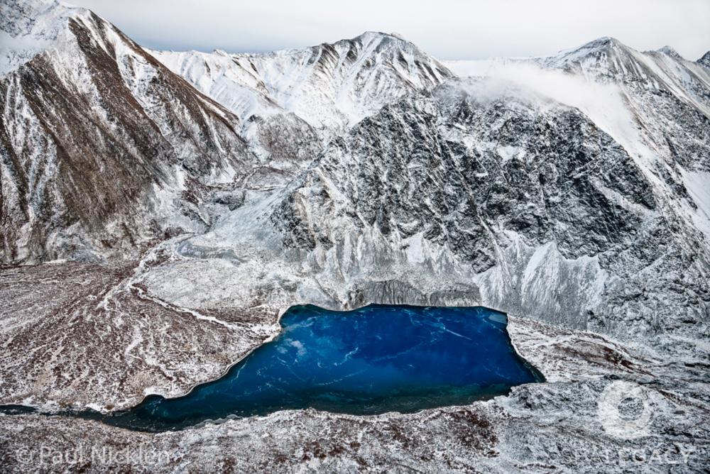 Paul Nicklen, Blue Lake  Digital Chromogenic Print, 20x30 in.