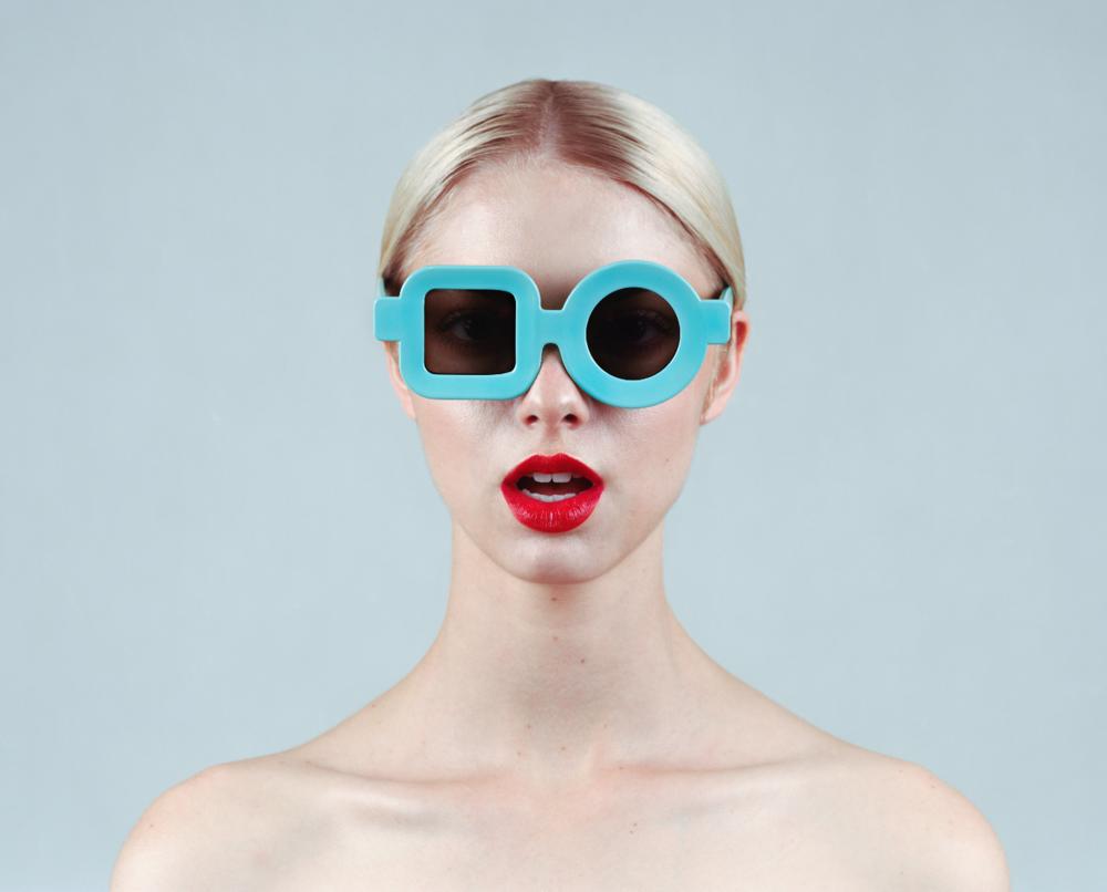 TYLER SHIELDS, Glasses  Digital Chromogenic Print, 40in. x 32in.