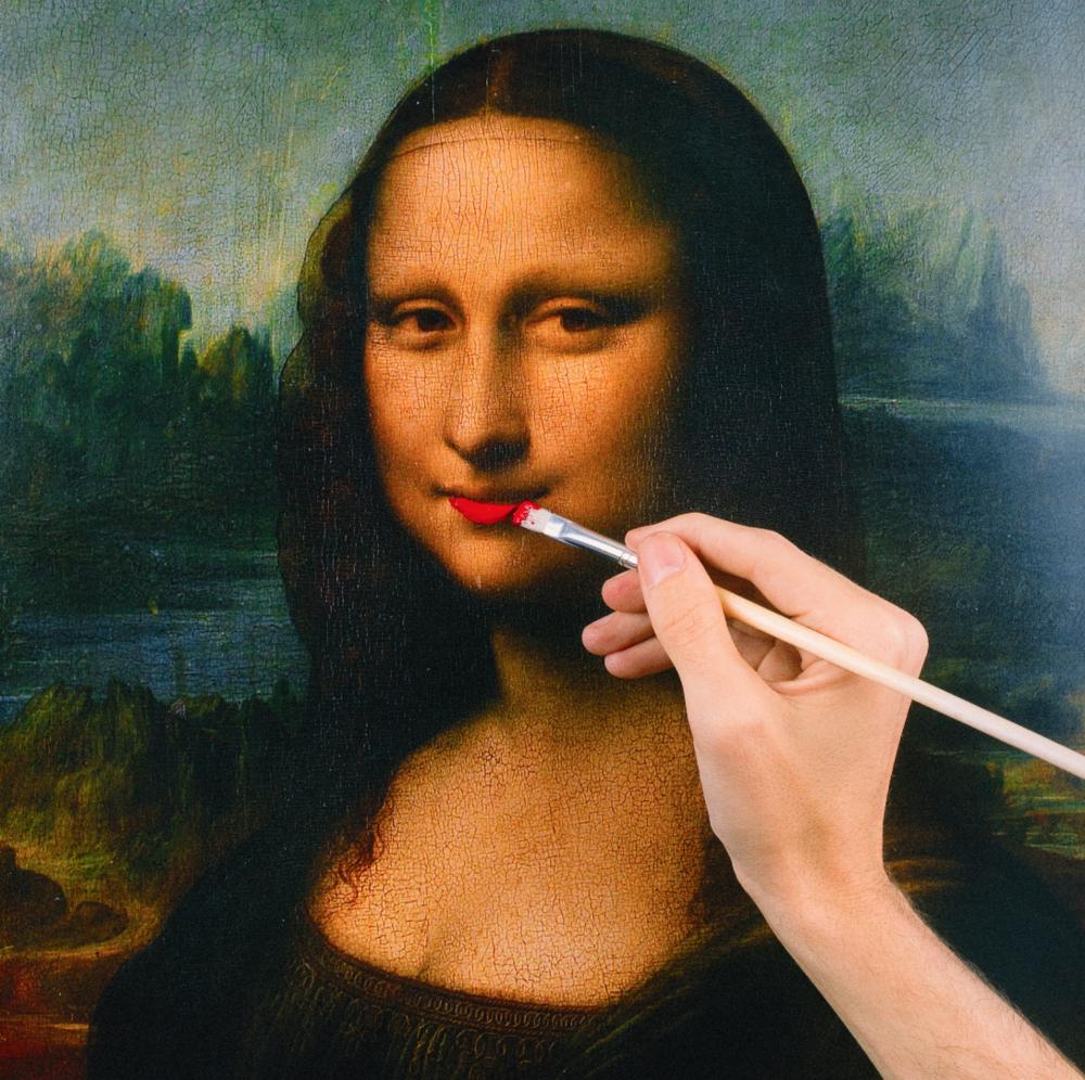 TYLER SHIELDS, Mona Lisa  Mona Lisa Digital Chromogenic Print 15 in. x 15 in.