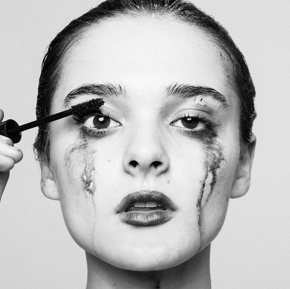Tyler Shields, Mascara  Digital Chromogenic Print, 40x40 in.