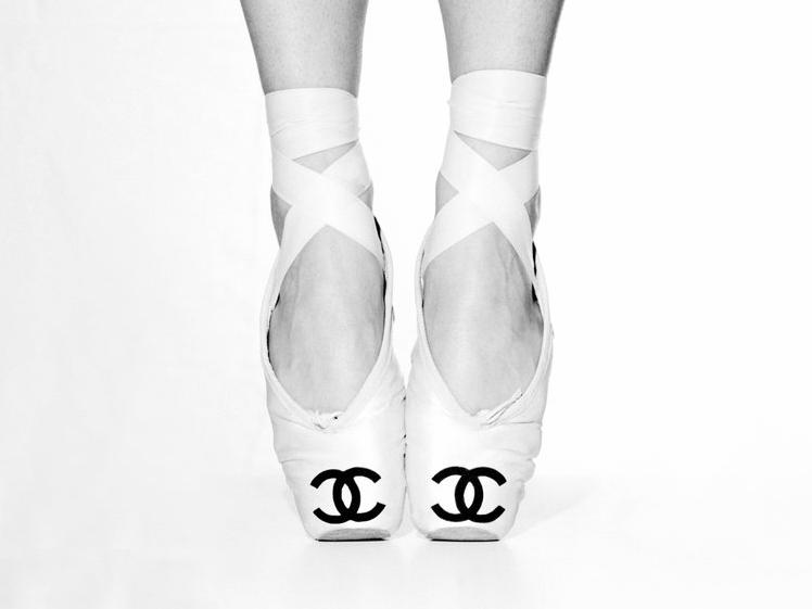 Tyler Shields, Chanel Ballet  Digital Chromogenic Print, 45x60 in.