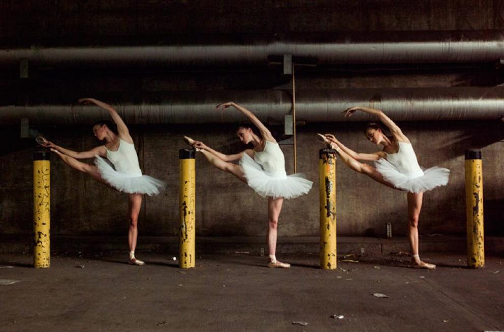 Tyler Shields, The Underground Ballet Company  Digital Chromogenic Print, 23x30 in.