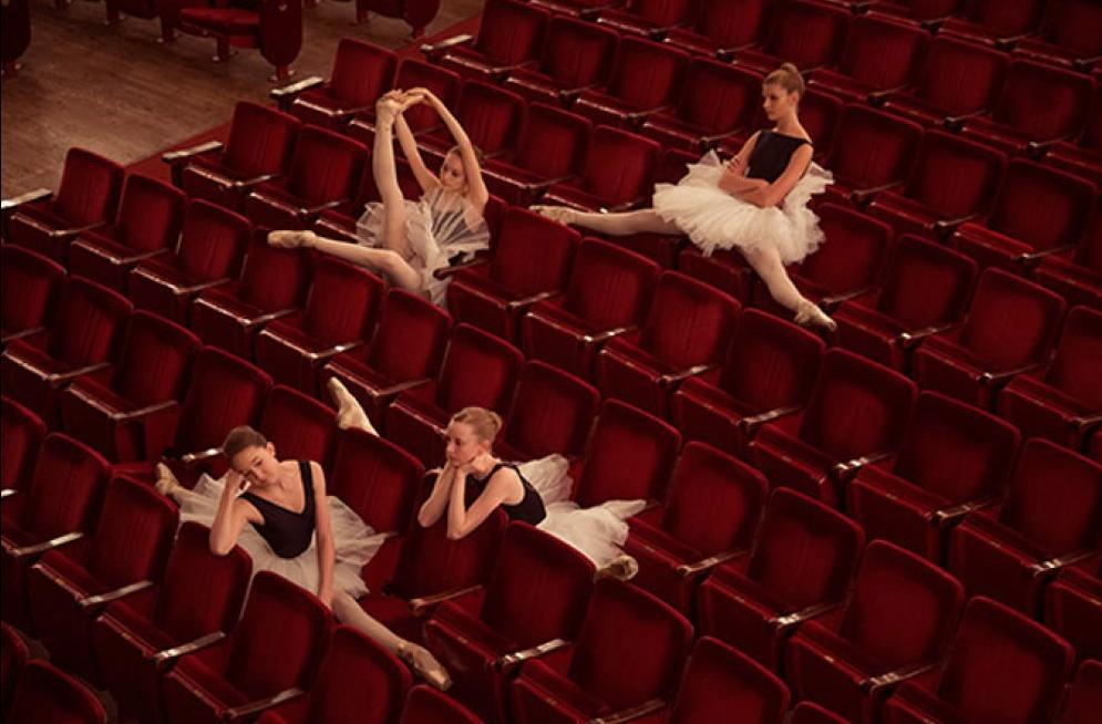 Tyler Shields, Dancers Twenty  Digital Chromogenic Print, 23x30 in.