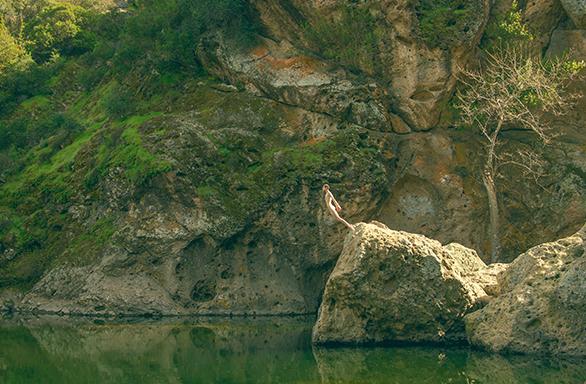 Tyler Shields, Malibu Rock Pool  Digital Chromogenic Print, 20x30 in.