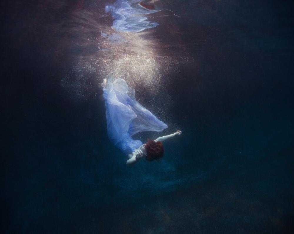 Tyler Shields, Into the Deep  Digital Chromogenic Print, 45x60 in.