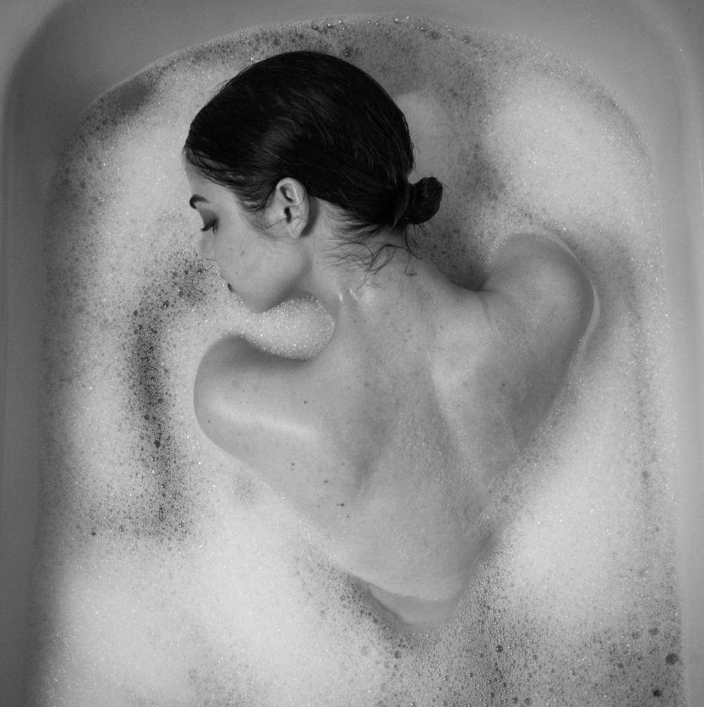 Tyler Shields, Bubbles  Digital Chromogenic Print, 45x45 in.