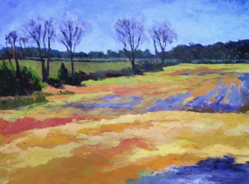 Pam Folsom, Ready to Plow  Oil on Canvas, 30 in. x 40 in.