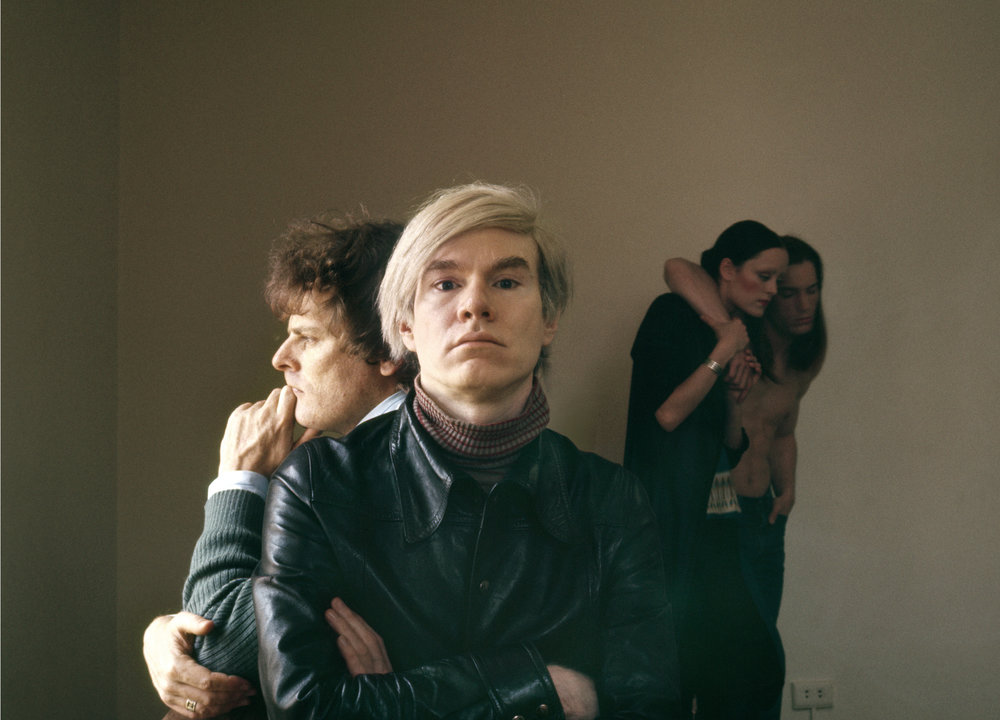 Douglas Kirkland, Andy Warhol, 1970  Archival Pigment Print, 24x30 in.