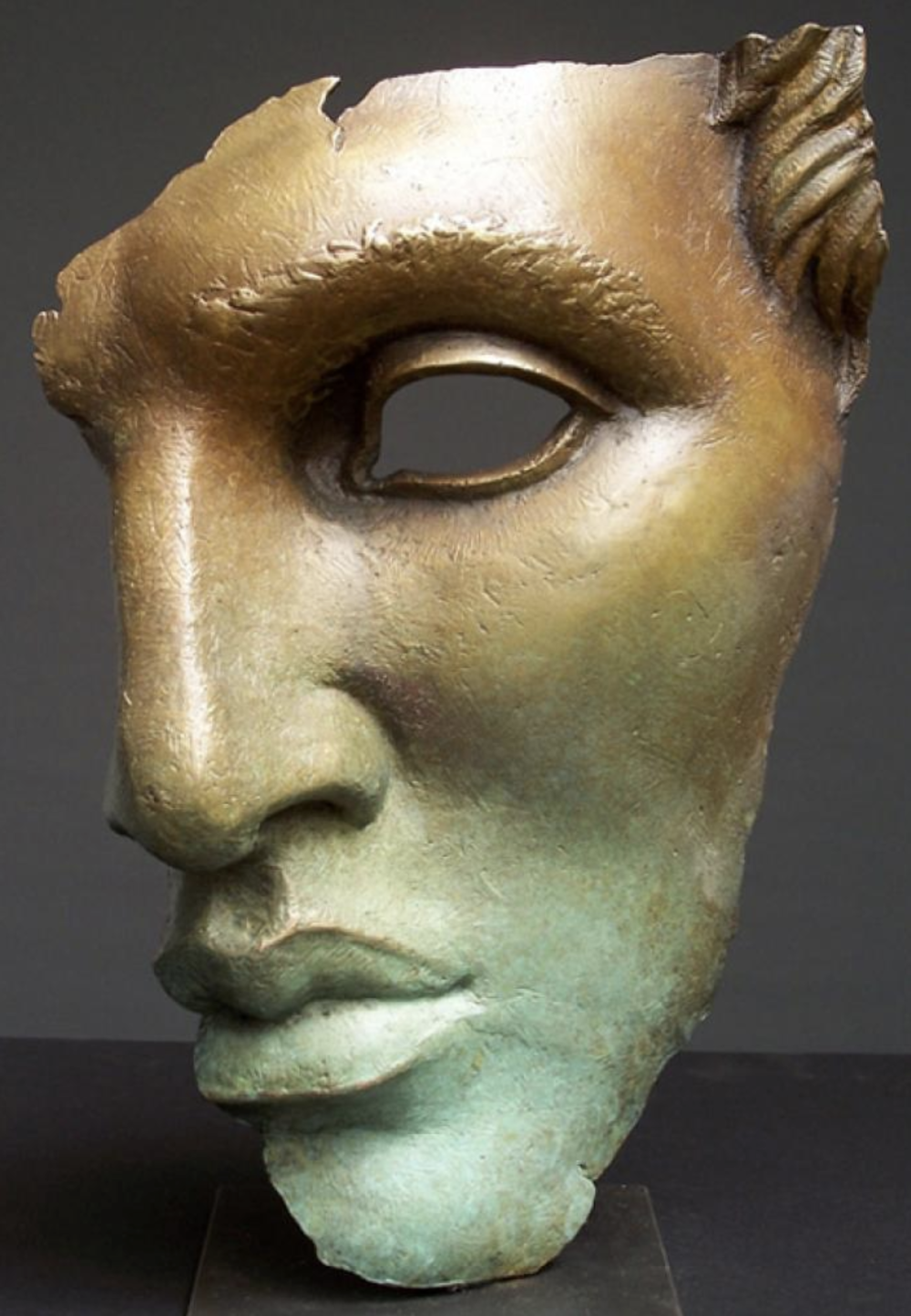 Bill Starke, Fragment of the Past  Cast Bronze, 17x12x3 in.